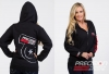 Precision Turbo and Engine Zip-Up Hoodie: Compressor