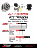 PTE Trifecta Class Legal Turbocharger Options