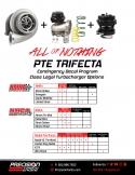 PTE Trifecta Class Legal Turbocharger Options