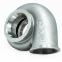 New Sportsman Stainless Steel V-Band Inlet/V-Band Outlet Turbine Housings