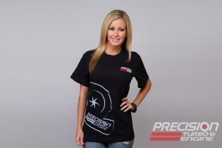 Precision Turbo and Engine T-Shirt: Compressor