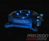 Accufab 4150 4-Barrel Throttle Body Black, Blue, or Red Anodize