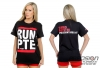 Precision Turbo and Engine T-Shirt: Run PTE