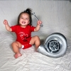 Precision Turbo and Engine Onesie: Boosted Baby