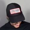 Precision Turbo & Engine Adjustable Trucker Hat (Black)